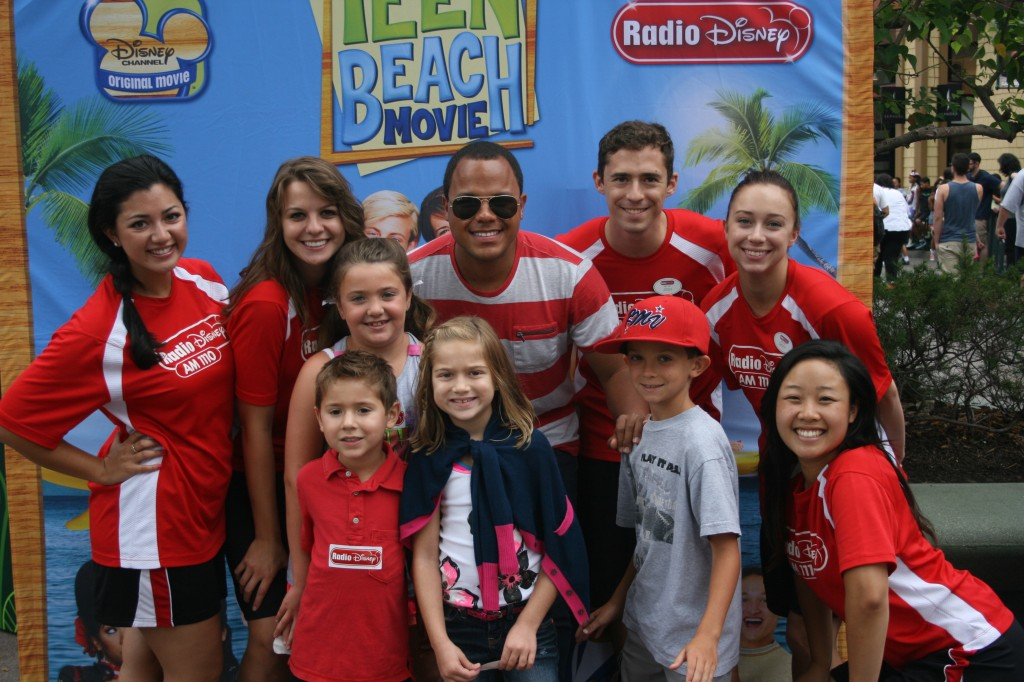 The Radio Disney Crew is always fun at these events!