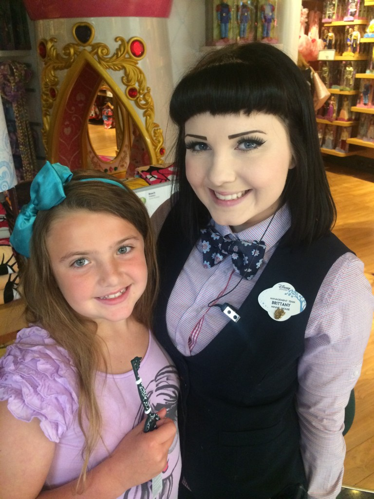 Emi with Cast Member Brittany