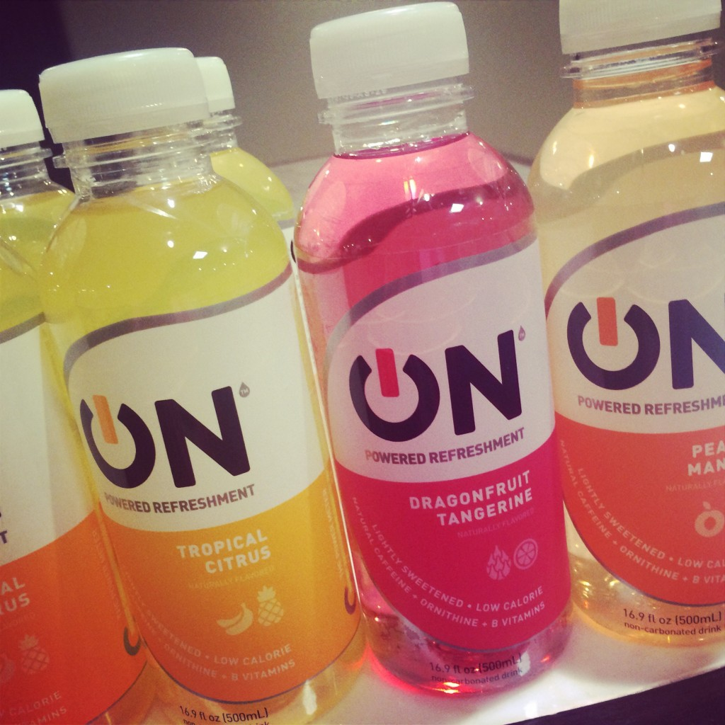A rainbow of ON Beverages