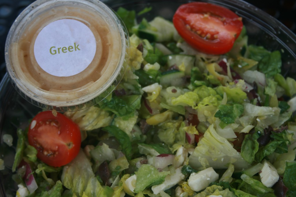 fresh brothers greek salad