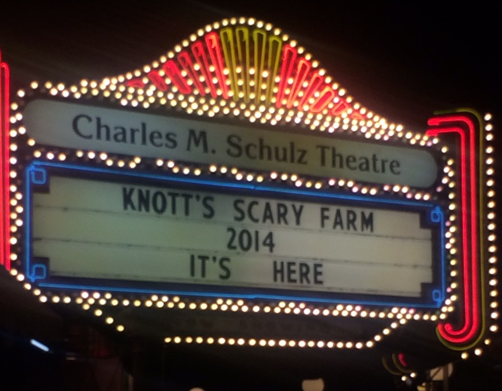 Knott's Scary Farm 2014 is here