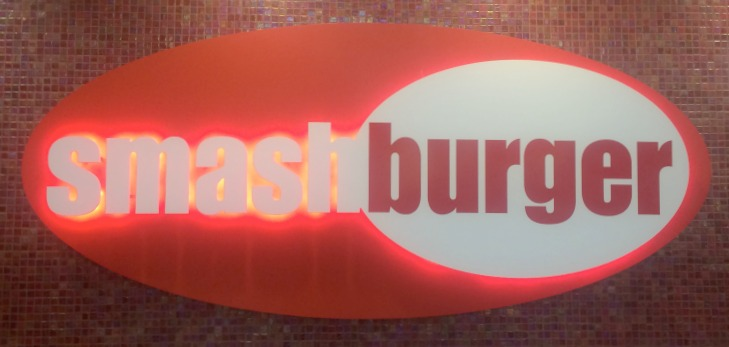 smash burger sign