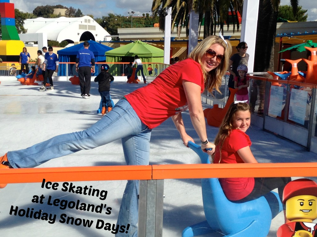 Ice Skating at Legoland's Holiday Snow Days