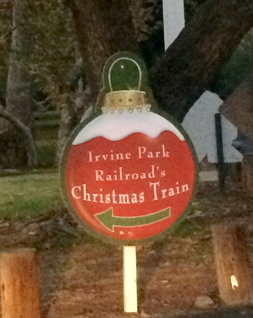 Irvine-Park-Railroad-Christmas-Train-Sign