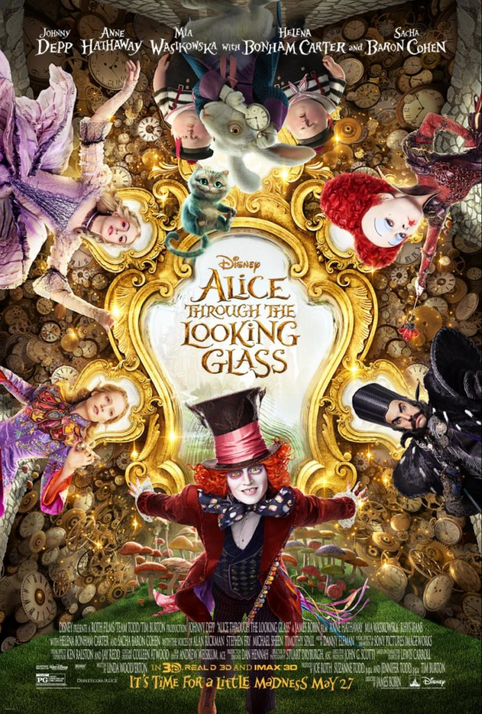 Alice-Through-The-Looking-Glass-poster